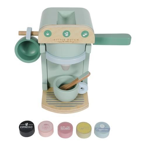 Machine à café en bois