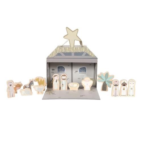 Valisette Crèche de Noël
