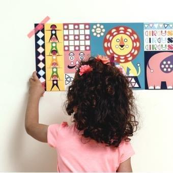 Poppik Poster Mosaic 3-7 ans