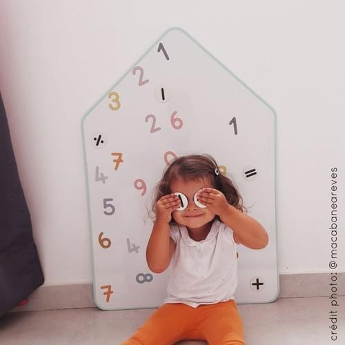 Planche de Magnets créatifs Ma cabane à rêves