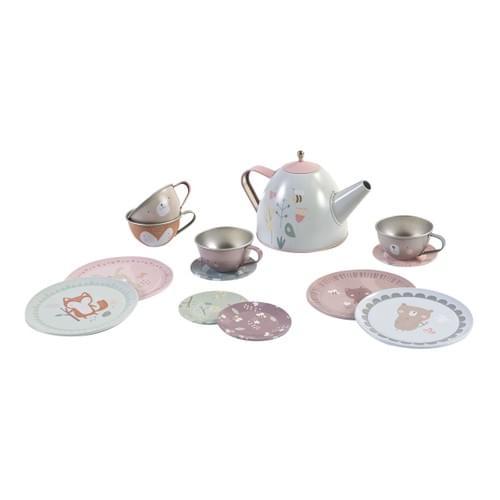 Service à thé en métal