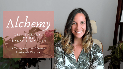 Alchemy - 8 Week Leadership Program