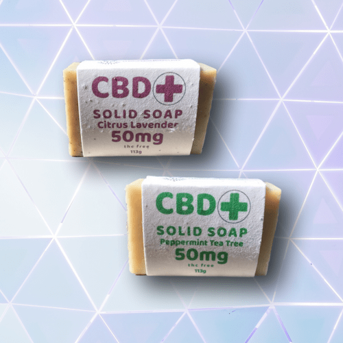 CBD Solid Bar Soap (50mg)
