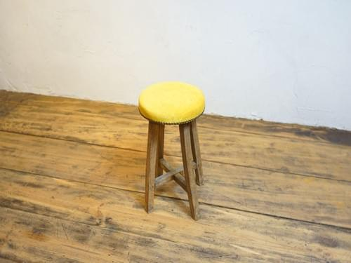 stool 古椅子 昭和初期 欅