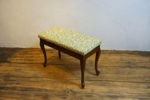 vintage piano chair William Morris Willow Bough 1950s