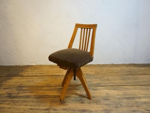 antique chair japan 回転椅子 ドクターチェア 昭和・大正