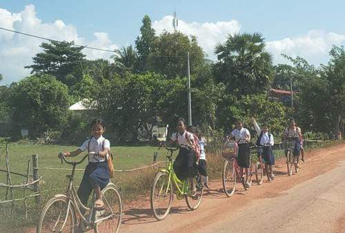 Bike for Cambodians in Need