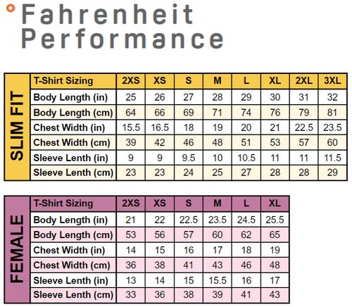 Fahrenheit Performance Podium T