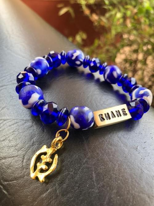 Ghana Sigmas Charter Bracelet - Engraved w/ Names