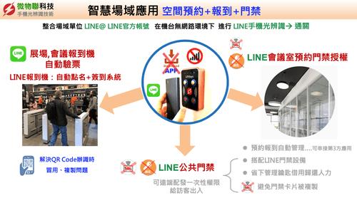 門禁系統:以LINE手機光辦識開門 (社區版)