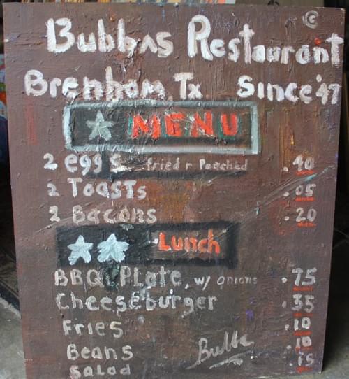 Bubba's Restaurant