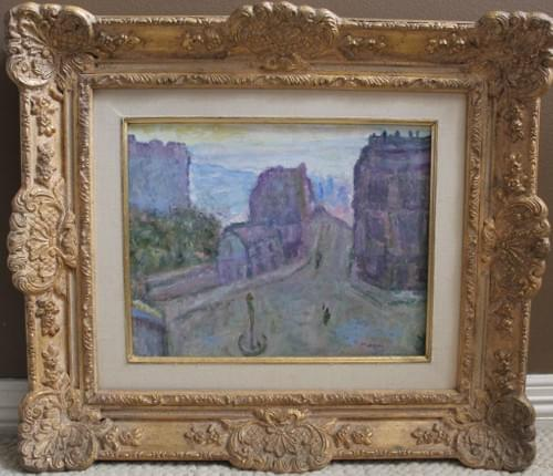 Landscape In The Style Of Marquet