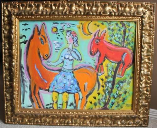 Red Mule Orange Mule