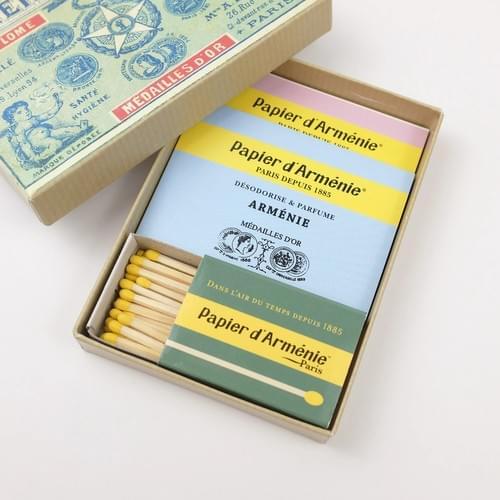 Incense Paper 1900 Box (3 booklets)