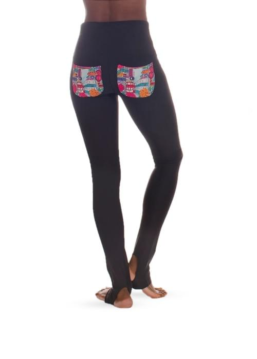 Black Yin Leggings