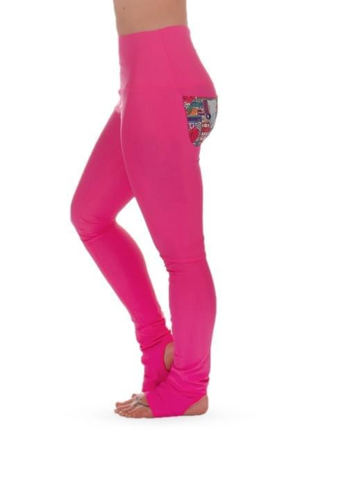 Yang Pink leggings