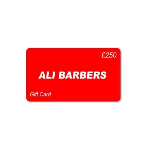 Ali Barbers Gift Card £250