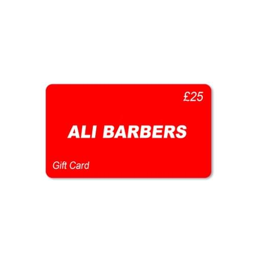 Ali Barbers Gift Card £25