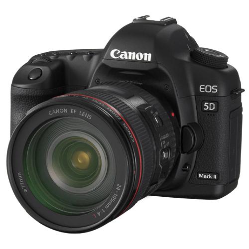 Canon 5D Mark II w/ 24-70mm lens