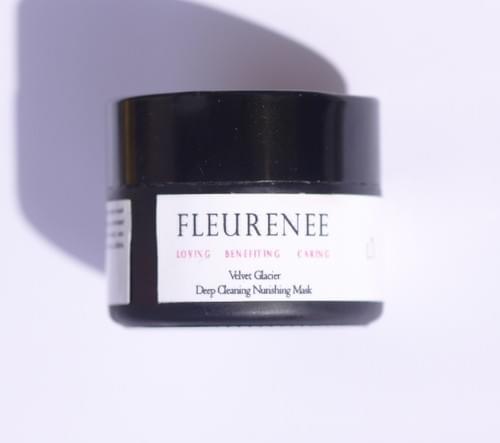 [ Velvet Glacier ]    deep cleansing nourishing face mask