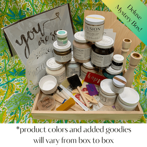Closeout! Curated Fusion Mineral Paint Mystery Boxes in 3 sizes!