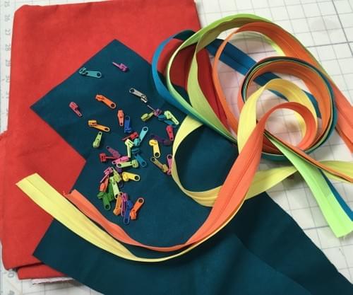 Canvas Zipper Cases, drop-in| Joona Fabriculture | Alameda Ca