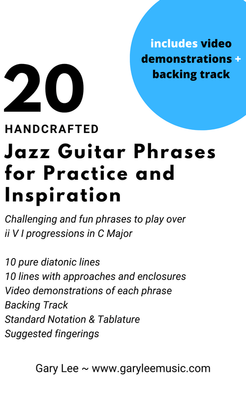 "20 ""Inside"" Jazz Guitar Phrases for Practice and Inspiration"
