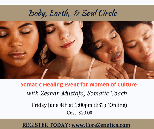 Body, Earth, & Soul Circle: June 4th Event