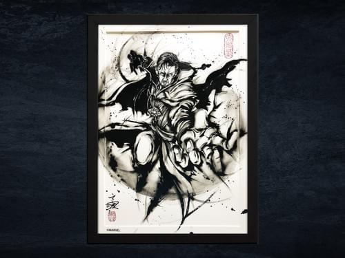 【武人画】マーベル原画「ドクター・ストレンジ」