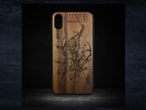 マーベルiPhoneCase 「スパイダーマン」iPhoneX/XS用