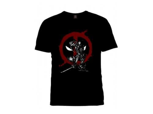 マーベル武人画Tシャツ「デッドプール」2XLサイズ