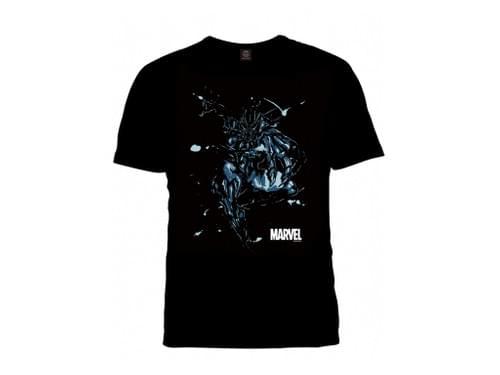 マーベル武人画Tシャツ「ブラックパンサー」XLサイズ