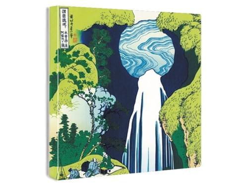 【浮世絵ファブリックボード】木曾路ノ奥阿弥陀の滝