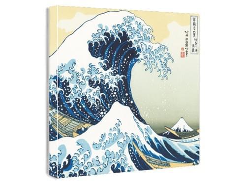 【浮世絵ファブリックボード】神奈川沖浪裏