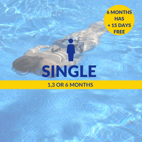 1, 3 or 6 Months Single