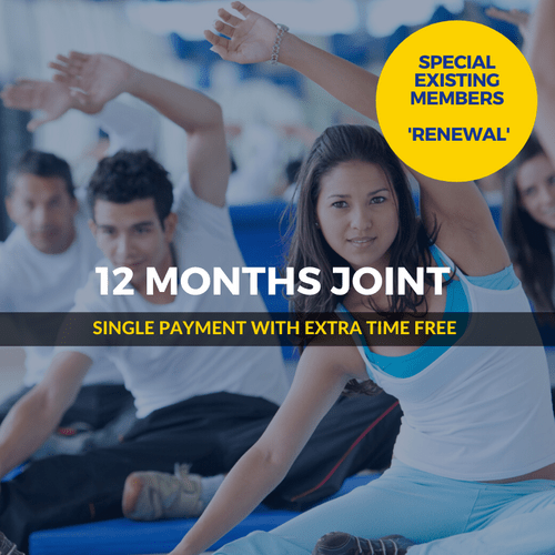12 Months SPECIAL Joint Renewal