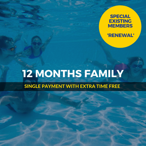 12 Months SPECIAL Family Renewal
