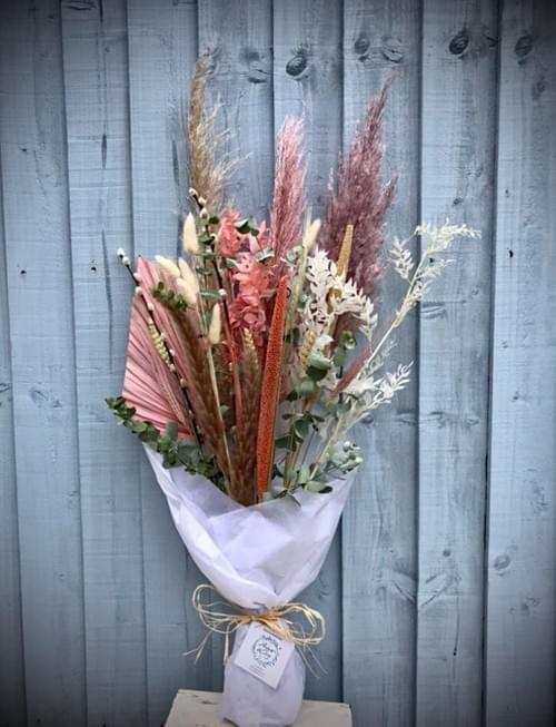Hand Tied Bouquet (fresh & dried mix)