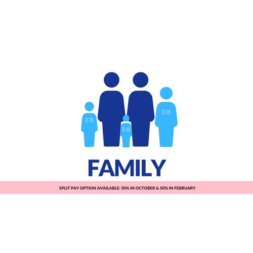 12 Months Family 50%