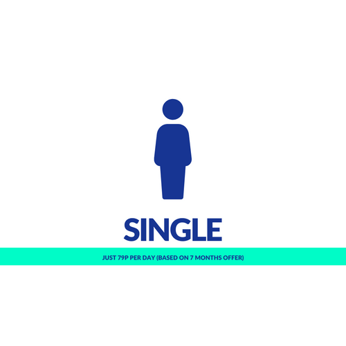 1, 4 or 7 Months Single