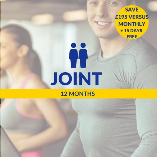 12 Months Joint (2 persons)
