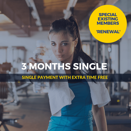 3 Months SPECIAL Single Renewal
