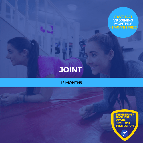 12 Months Joint (2 person membership)
