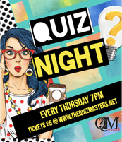 That's Entertainment! Quiz Thursday 7pm