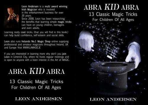 AbraKIDAbra. PDF Book that teaches you amazing magic tricks.