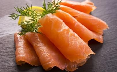 MacKnight Smoked Salmon Sliced