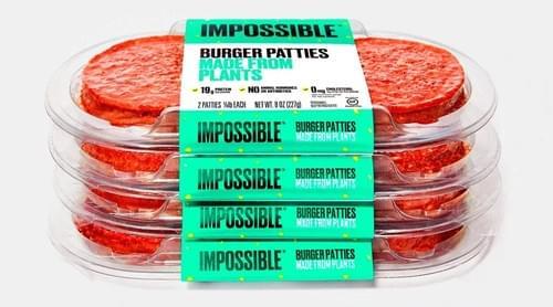 Vegan Impossible Burgers 4oz
