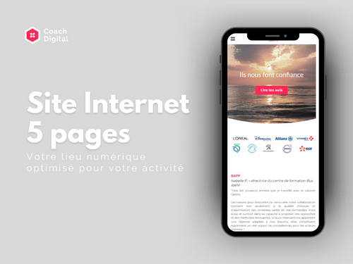 Site Internet 5 pages