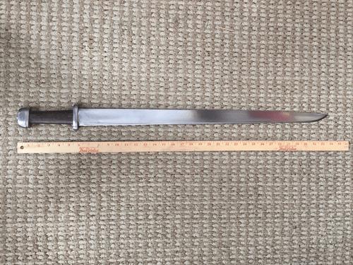 single edged Viking sword