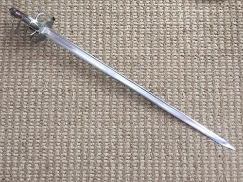 custom mortuary hilt backsword with Hanwei hilt